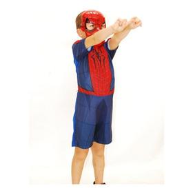 Fantasia Homem Aranha + Máscara ( Infantil )