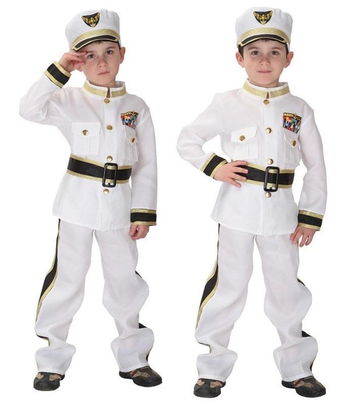 0202c47cc3 fantasia infantil capitão navio - marinheiro - frete gratis. Carregando  zoom.