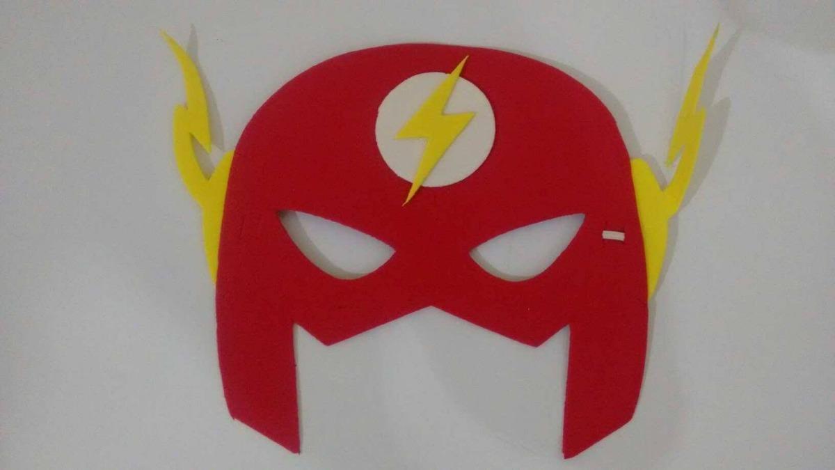 c2ed224297a14a Fantasia Infantil Curta Do Flash Com Mascara