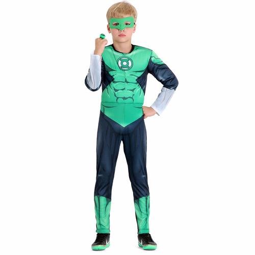 fantasia infantil lanterna verde premium tamanho p bonellihq