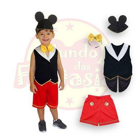 2f9d05e6dd4ee8 Fantasia Infantil Mickey N 4