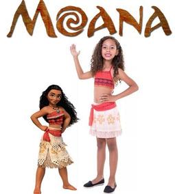 c362f06869 Fantasia Infantil Maui Moana Um Mar De Aventuras no Mercado Livre Brasil