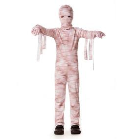 22db241b471d0e Fantasia Infantil Mumia Halloween