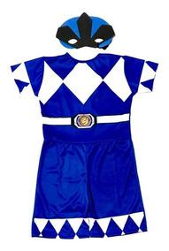 fee5e47329c5bb Fantasia Infantil Power Ranger Azul