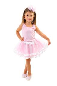 9ed2ddd17b Fantasia Infantil Bailarina no Mercado Livre Brasil