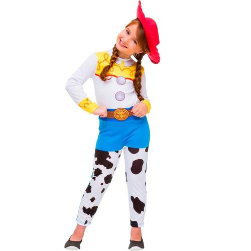 fantasia jessie infantil c/chapéu toy story3 original disney