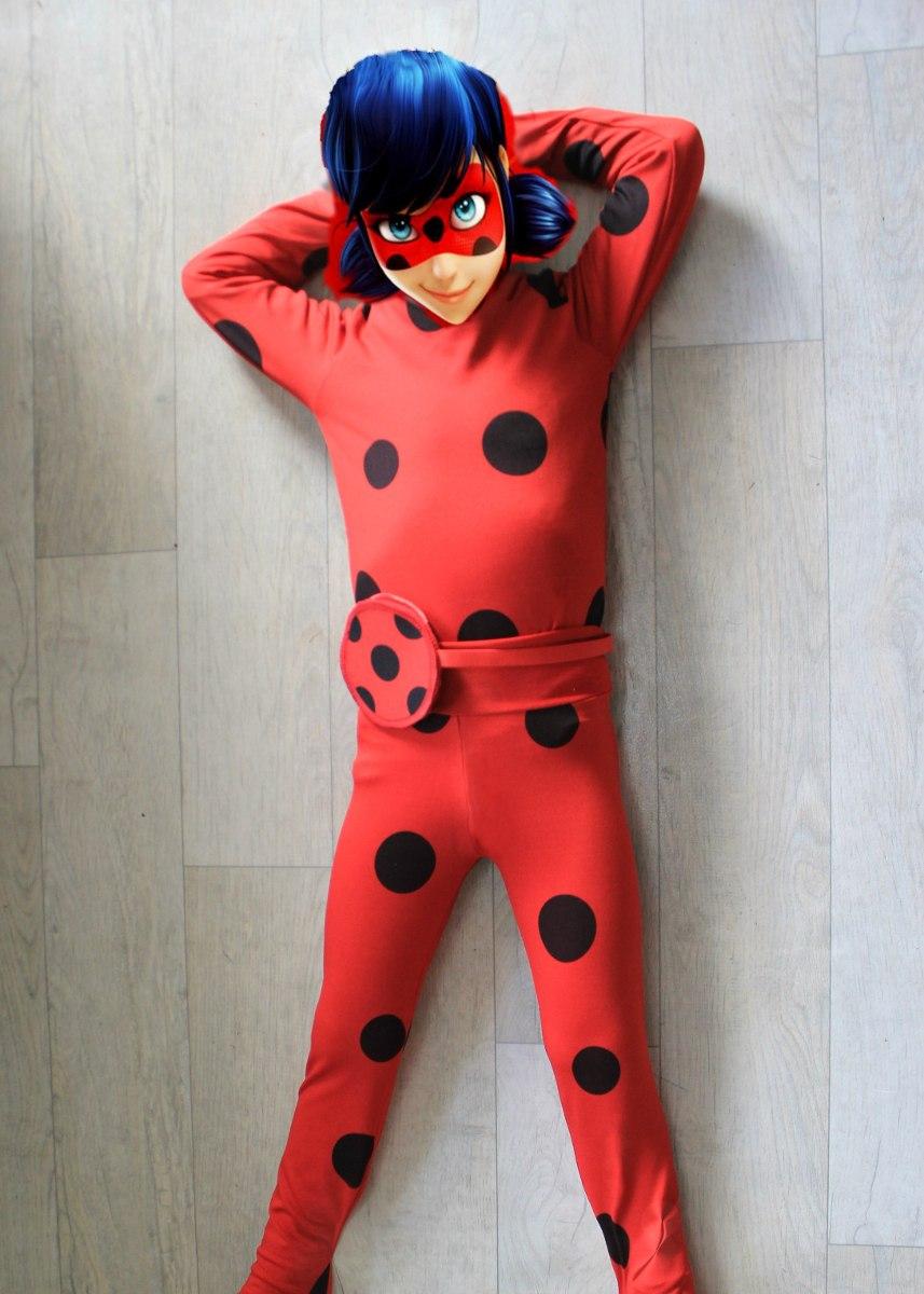 cfdaba104e9046 Fantasia Macacão Ladybug + Tikky + Ioio