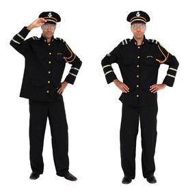 c66b03fb660026 Fantasia Marinheiro Comandante Naval Almirante Marinha Luxo