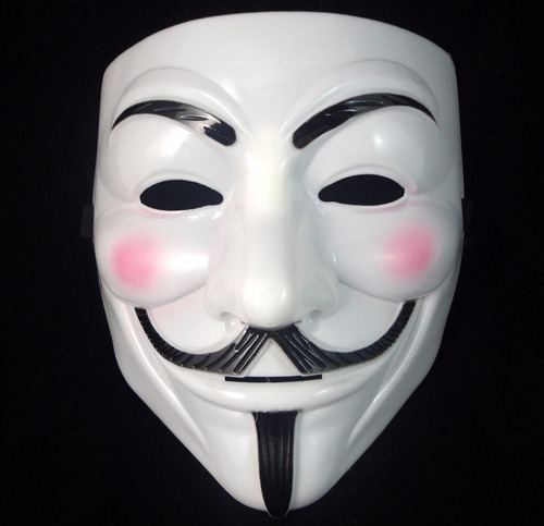 fantasia máscara v de vingança  anonymous vendetta guy fawke