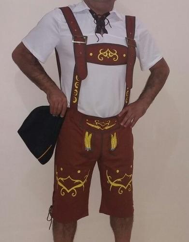 fantasia masculina adulto alemão oktoberfest pronta entrega