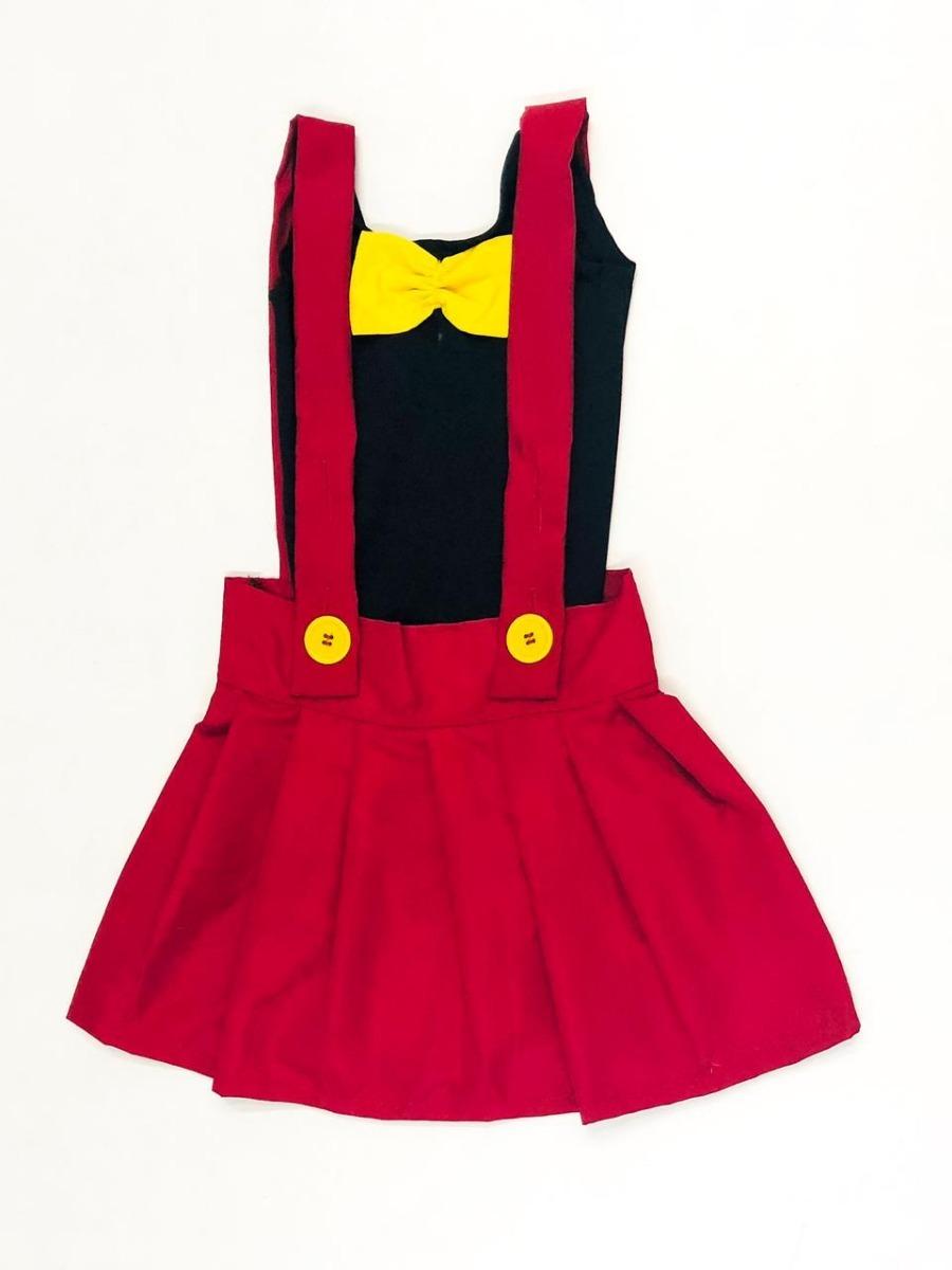 79739bdeb699c2 Fantasia Mickey Mouse Feminina Infantil