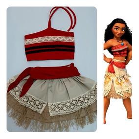 cb57495b735f Fantasia Moana Adulta Luxo - Camisetas e Blusas com o Melhores ...