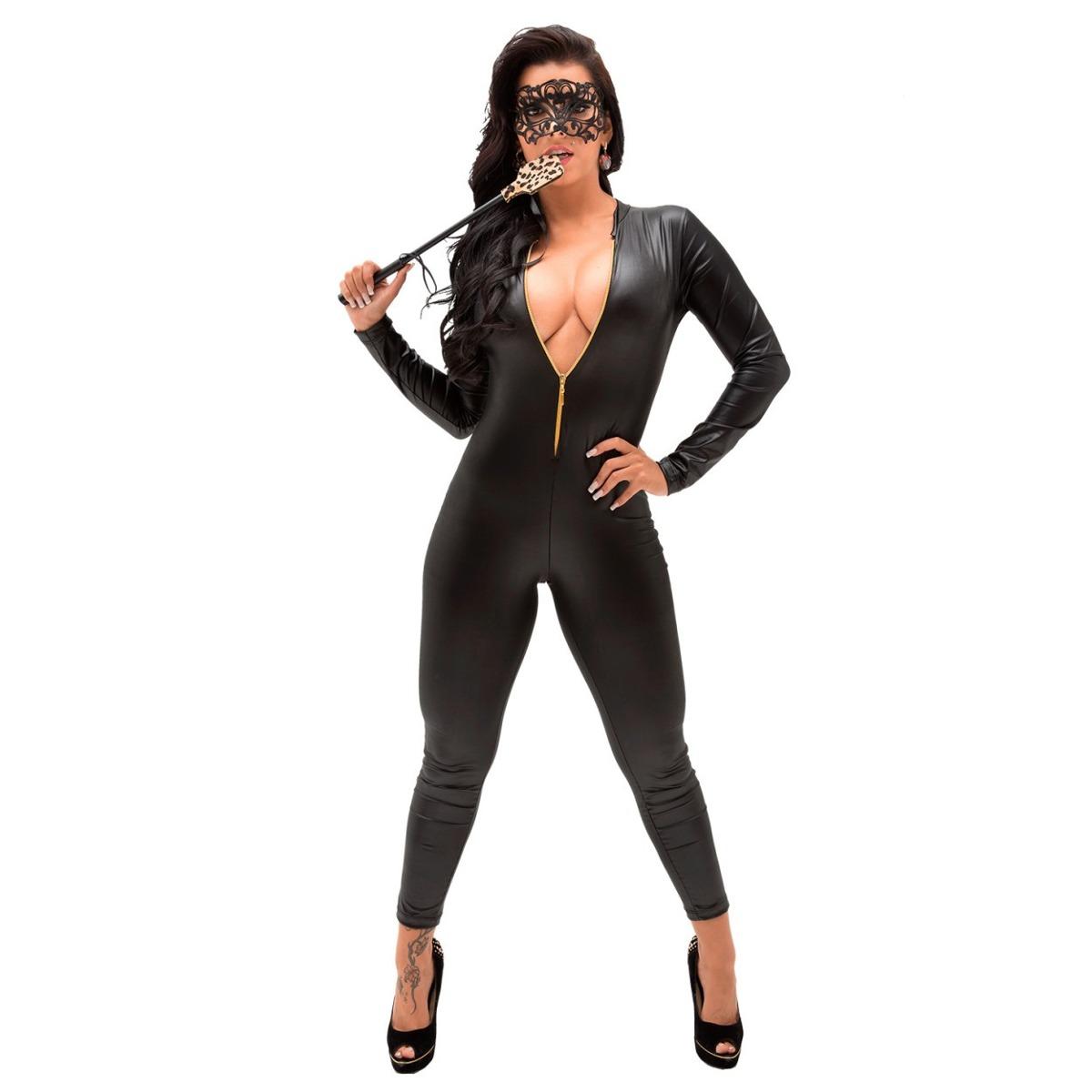 d564751c7 fantasia mulher gato macacão sexy sensual pronta entrega. Carregando zoom.