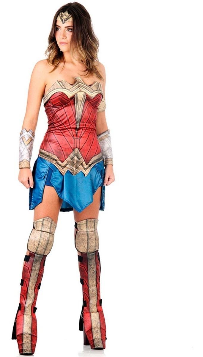 7f3c180af18b6f Fantasia Mulher Maravilha Adulto Filme Batman Vs Superman