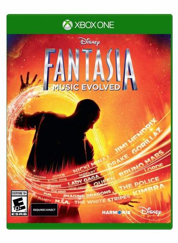 fantasia music evolved nuevo sellado xbox one
