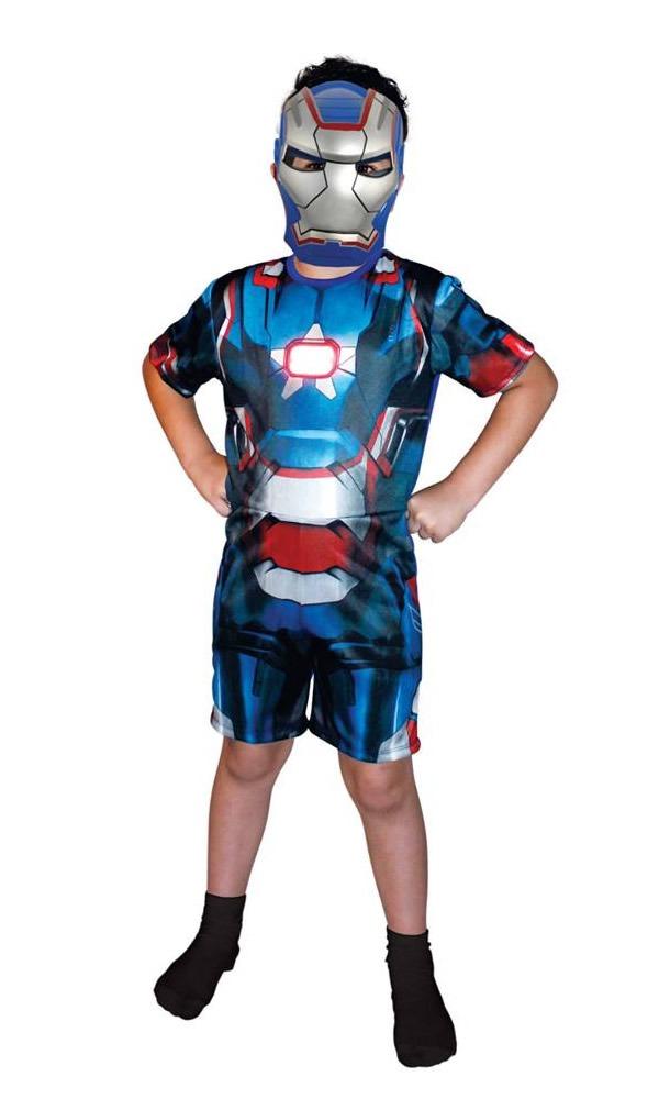 Vela Homem de Ferro 3 - Iron Man - plana - unidade