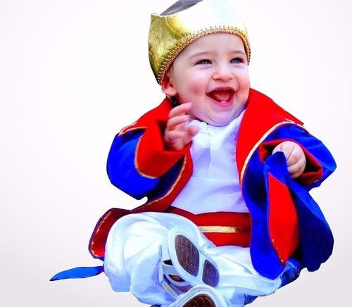 fantasia pequeno principe bebê luxo - frete gratis