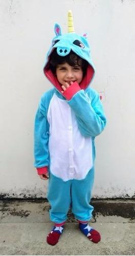 fantasia pijama unicórnio cosplay  infantil envio gratis
