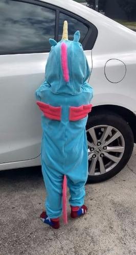 fantasia pijama unicórnio infantil - brasil frete gratis