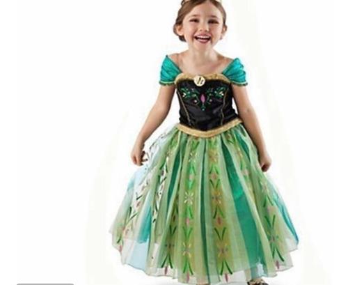 fantasia princesa ana original disney tamanho 4