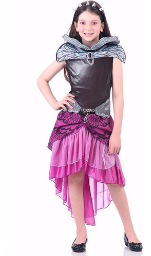 fantasia raven queen ever after high infantil luxo