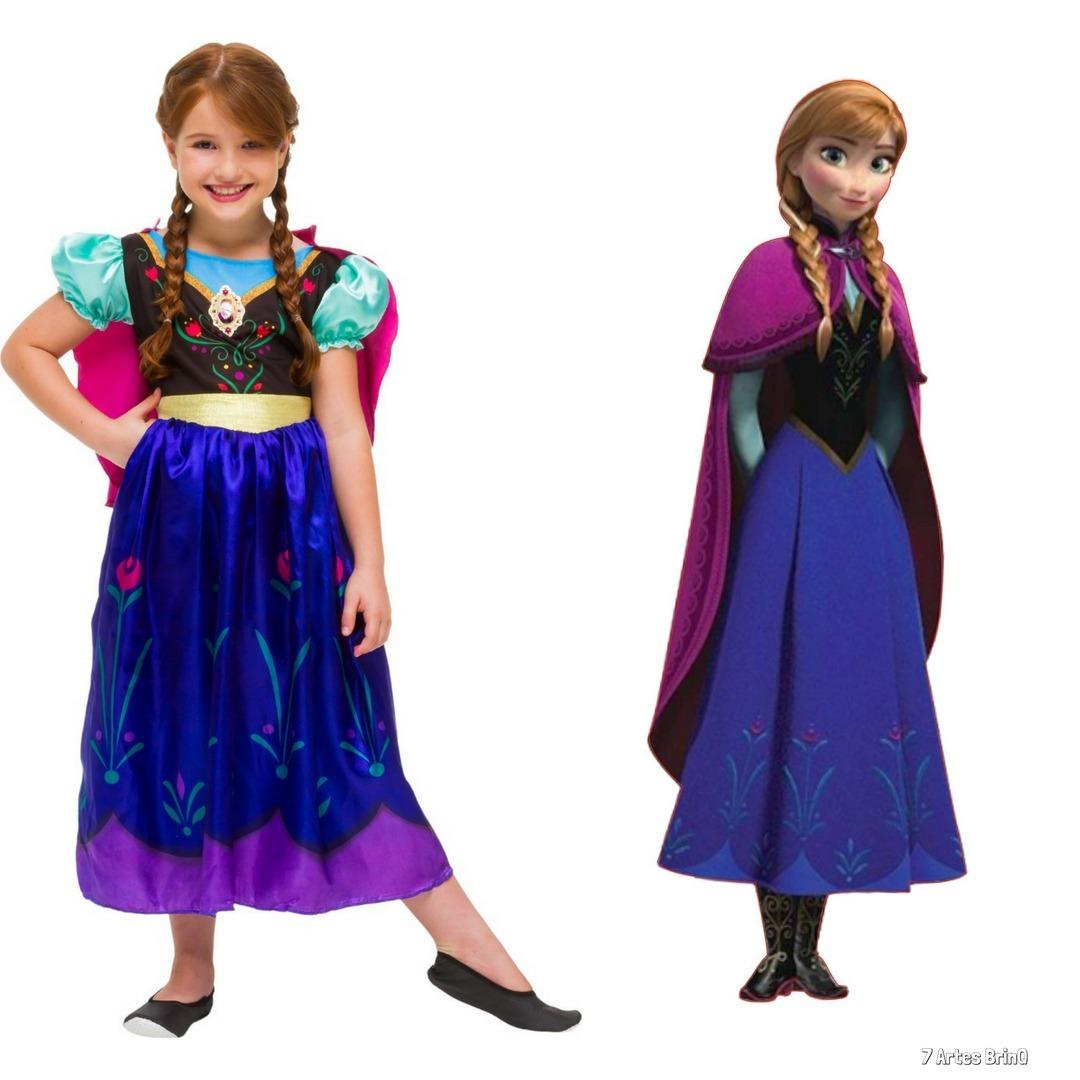 d164f78500 Fantasia roupa barato anna frozen infantil princesa disney carregando zoom  jpg 1080x1080 Princesa anna frozen