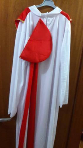 fantasia santo casamenteiro roupa padre com falha + frete!