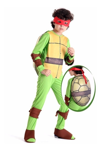 fantasia tartarugas ninjas raphael g - sulamericana