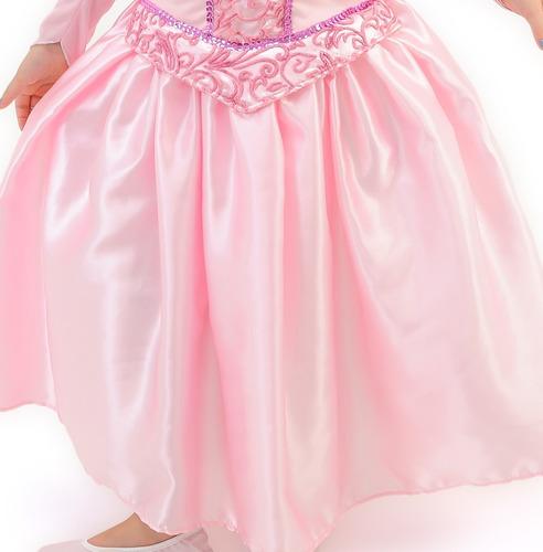 fantasia vestido bela adormecida princesa aurora luxo