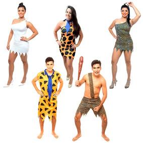 668910e63 Fred E Vilma Flintstones Festa Fantasia no Mercado Livre Brasil