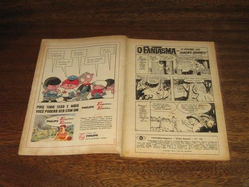 fantasma magazine n° 124 março/1967 rio gráfica editora