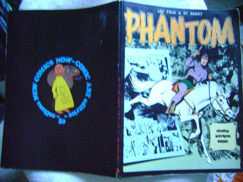 fantasma(phantom) daily strips 1980 comic art ótimo leia!
