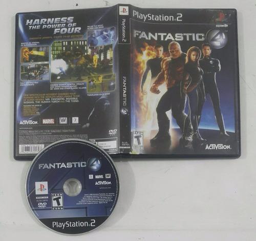 fantastic 4 fantasticos / playstation 2 ps2