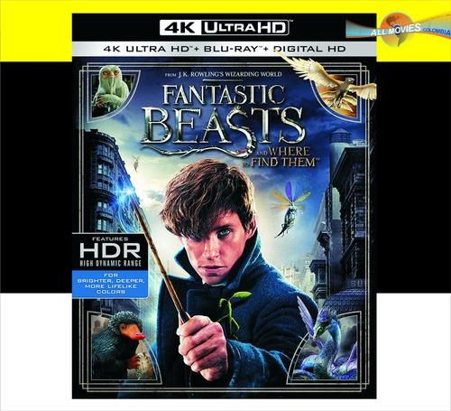 fantastic beasts (4k ultra +blu-ray+hd) original!!