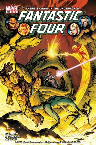 fantastic four by jonathan hickman vol 2 marvel nuevo ingles