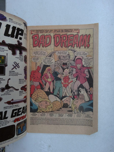 fantastic four nº 328! marvel comics jul 1989! em inglês!