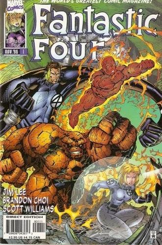 fantastic four vol 2 cómics digital español