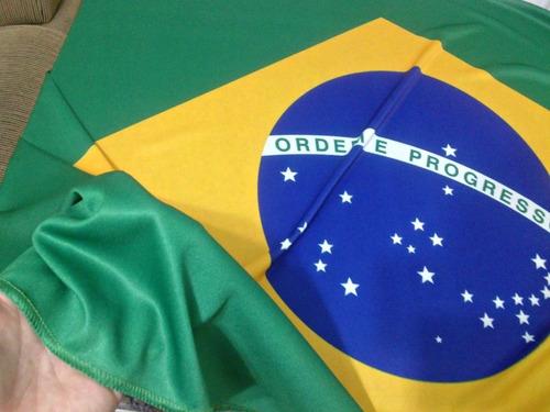 fantástica bandeira do brasil 1.60 x 1.00 mt!