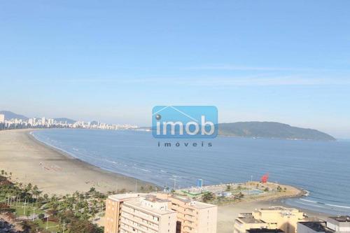 fantástica vista mar - apartamento no bairro do josé menino em santos na avenida da praia com vista mar. - ap6684