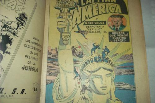 fantastico, pres. capitan america art. j.kirby 1954 joyita
