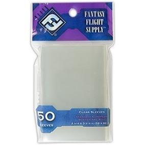 fantasy flight sleeves: 5 pacotes (250 shields)