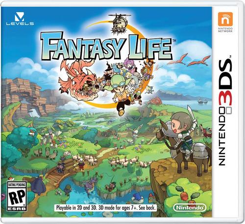 fantasy life código digital para nintendo 3ds