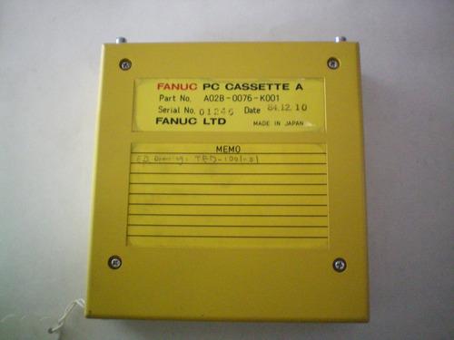 fanuc pc cassette a a02b-0076-k001