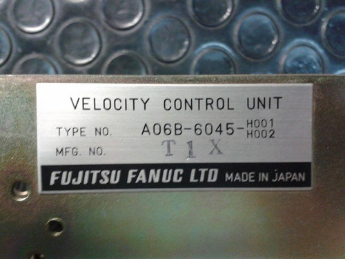 fanuc servo drive a06b-6045-h001/ h002