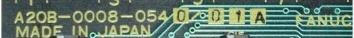 fanuc tarjeta input-output a20b-0008-0540