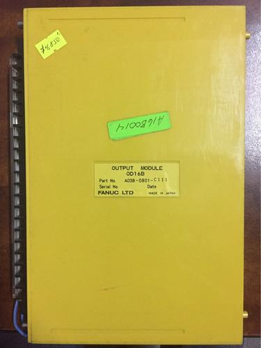 fanuc tarjeta output a03b-0801-c111