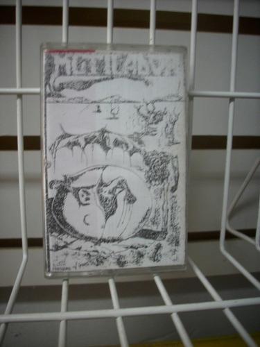 fanzine mutilador - compilación vol 4 cassette sin usar