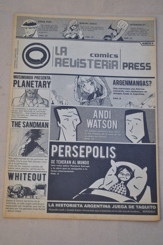 fanzine revisteria comics press n 4 2008 historieta