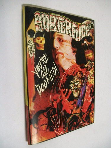 fanzine subterfuge numero 11 - madrid, españa // rock