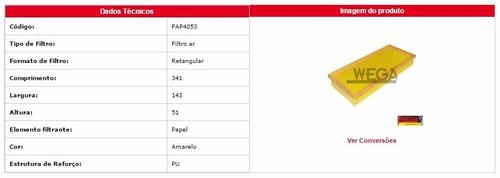 fap 4053 filtro de ar  mondeo 2.0 16v duratec 00-02